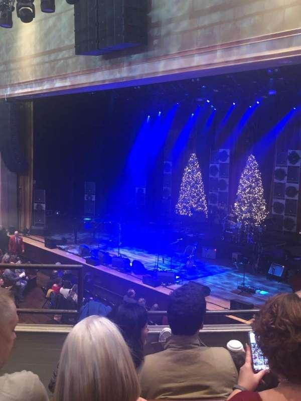 Ryman Auditorium, section: Bal-10, row: D, seat: 7