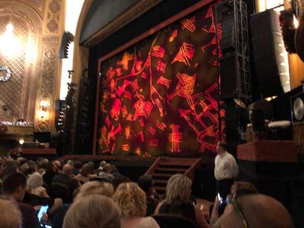 Paramount Theatre (Seattle), section: Main Floor 1, row: K, seat: 7