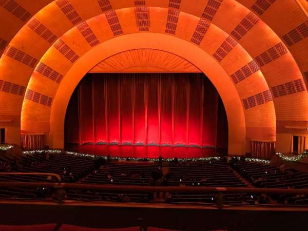 Radio City Music Hall, section: 1ST Mezzanine 3, row: C, seat: 311