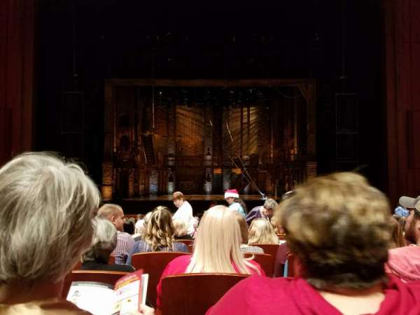 Au-Rene Theatre at the Broward Center, section: Orchestra C, row: V, seat: 107