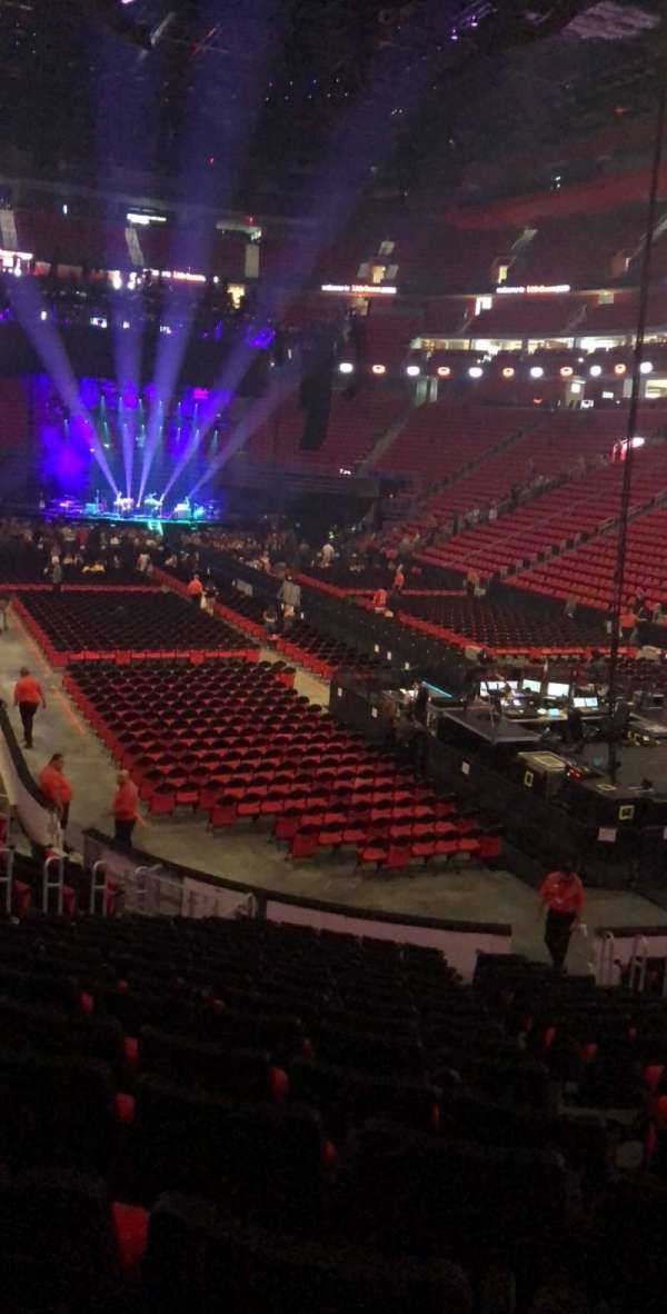 Little Caesars Arena, section: 117, row: 16