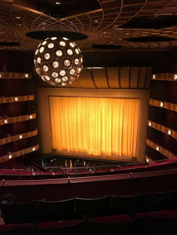 David H. Koch Theater, section: 4th Ring, row: F, seat: 10