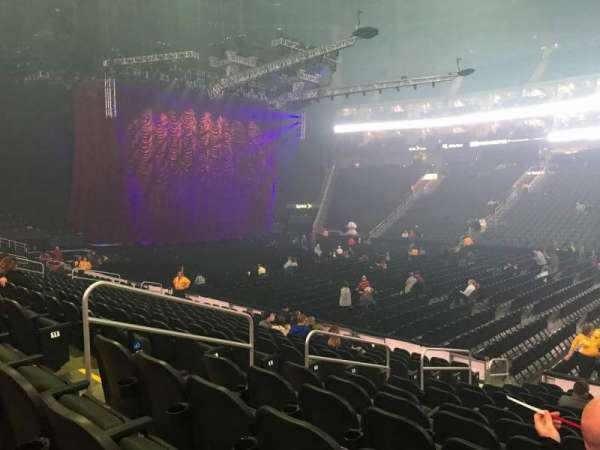 Sprint Center, section: 105, row: 13, seat: 14