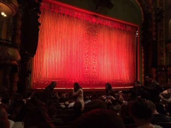 New Amsterdam Theatre, section: Orchestra L, row: N, seat: 15
