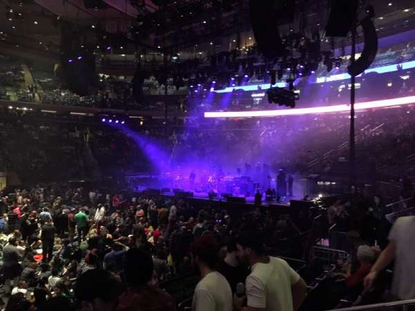 Madison Square Garden, section: 107, row: 5, seat: 12