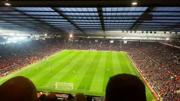 Old Trafford, section: E335, row: 28, seat: 49