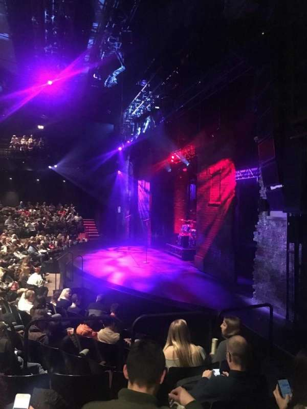 Gillian Lynne Theatre, section: Stalls, row: M, seat: 9