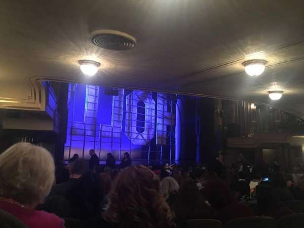 Nederlander Theatre, section: Orchestra L, row: Q, seat: 27