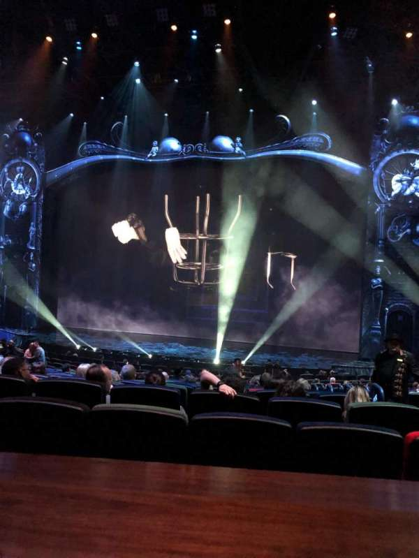Michael Jackson One Theatre, section: 204, row: AA, seat: 6