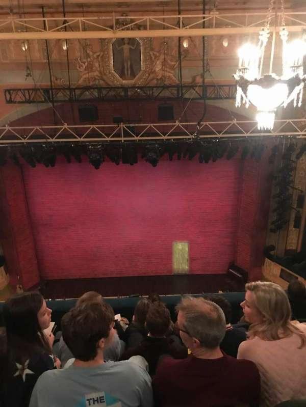 Shubert theatre, section: Balc, row: F, seat: 105