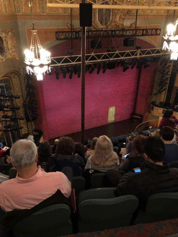 Shubert Theatre, section: Balcony Left, row: H, seat: 19