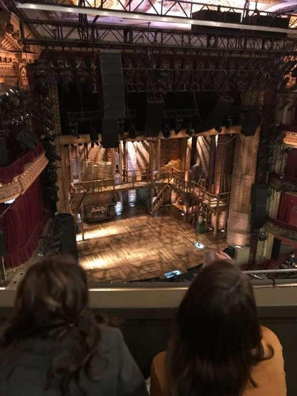 CIBC Theatre, section: Balcony L, row: B, seat: 5