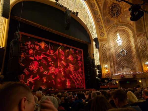 Paramount Theatre (Seattle), section: Main Floor 4, row: R, seat: 5
