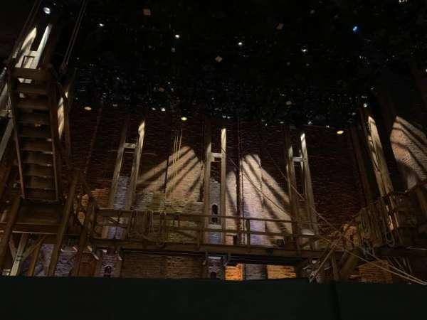 CIBC Theatre, section: Orchestra C, row: B, seat: 103