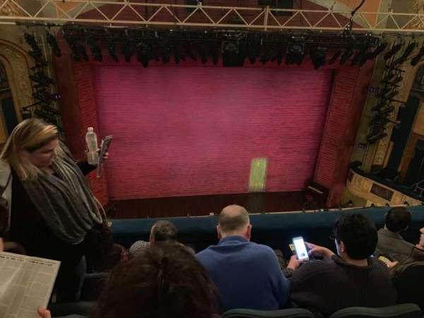 Shubert Theatre, section: Balcony Center, row: D, seat: 113