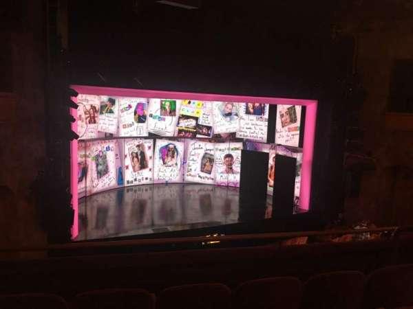 August Wilson Theatre, section: Mezzanine L, row: D, seat: 11