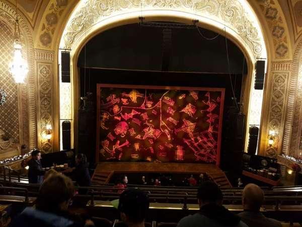 Paramount Theatre (Seattle), section: Mezzanine 13, row: E, seat: 2
