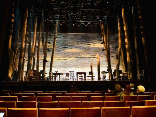 Ahmanson Theatre, section: Orchestra, row: F, seat: 21