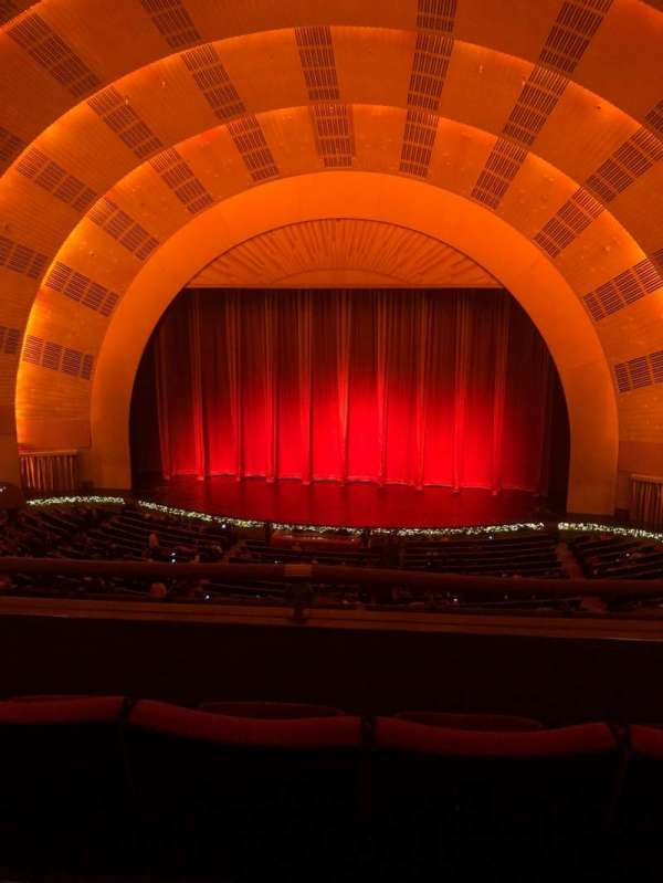 Radio City Music Hall, section: 2nd mezzanine 3, row: C, seat: 316