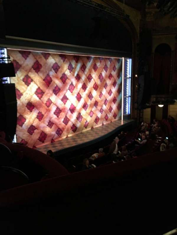 Brooks Atkinson Theatre, section: Front Mezzanine L, row: B, seat: 25