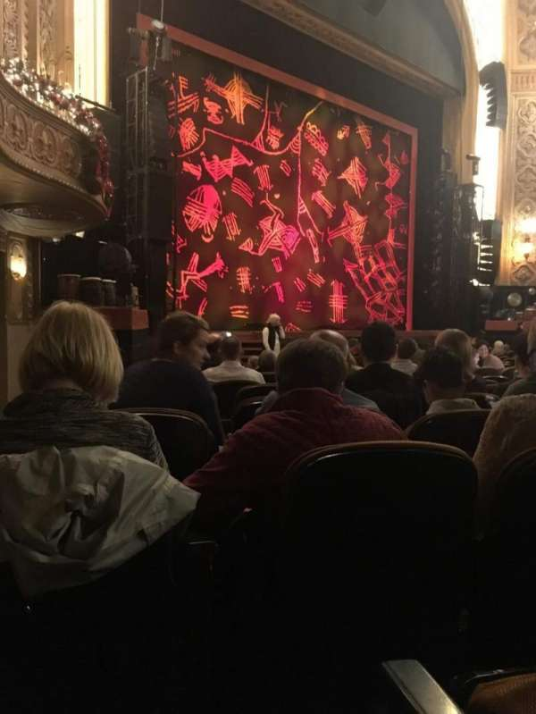Paramount Theatre (Seattle), section: MF1, row: L, seat: 8