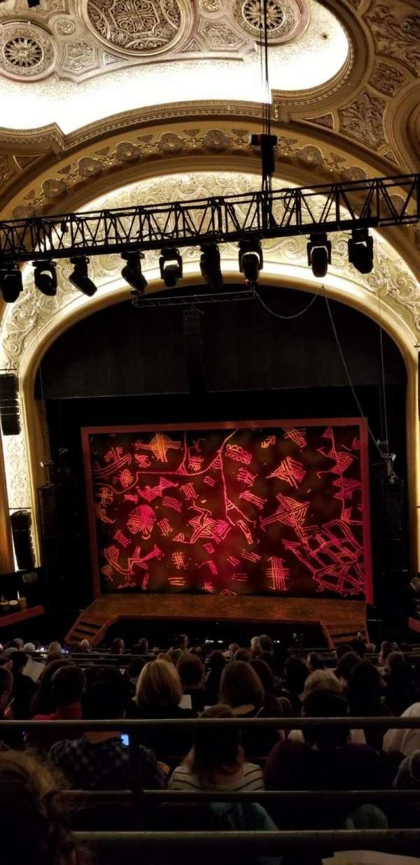 Paramount Theatre (Seattle), section: Mezzanine 22, row: K, seat: 5