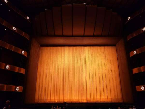 David H. Koch Theater, section: Orchestra, row: Q, seat: 109