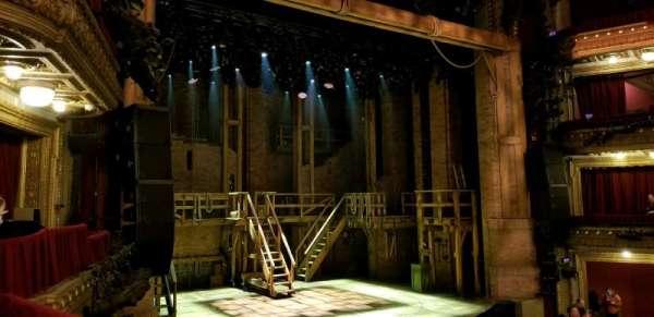 CIBC Theatre, section: Dress Circle Box 1, row: BX1 right, seat: 207