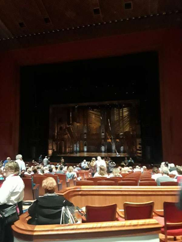 Au-Rene Theatre at the Broward Center, section: Orchestra C, row: AA, seat: 122
