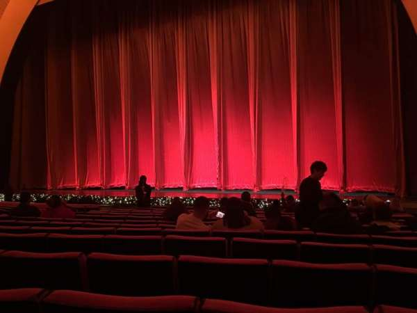 Radio City Music Hall Section Orchestra 3 Row Oo Seat