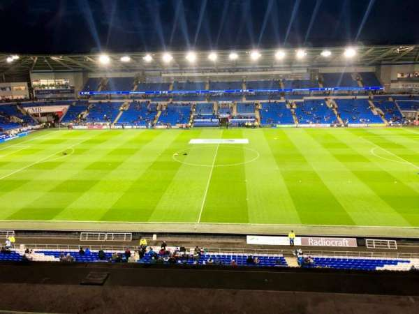 Cardiff City Stadium, section: 514, row: A, seat: 93