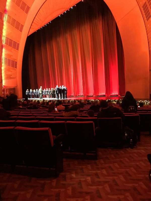 Radio City Music Hall, section: Orchestra 1, row: SS, seat: 110
