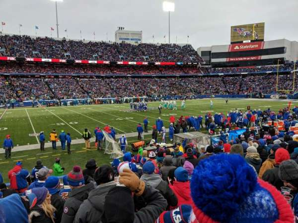 New Era Field, section: 135, row: 16, seat: 22