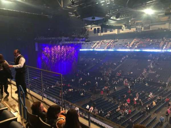 Citizens Business Bank Arena, section: 214, row: C, seat: 9
