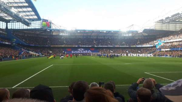 Stamford Bridge, section: Shed End Lower 6, row: 6, seat: 142