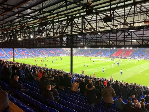 Selhurst Park, section: R, row: 40, seat: 10