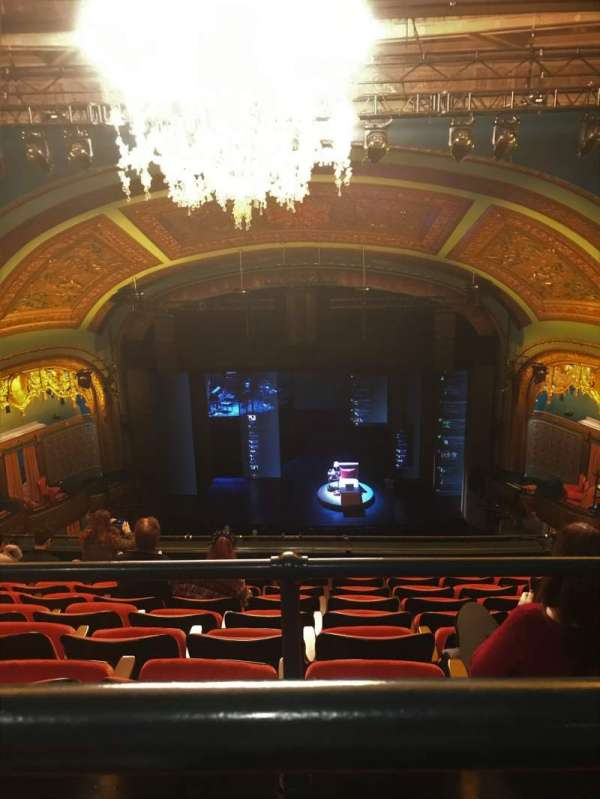 Curran Theater, section: Rear Balcony, row: G, seat: 110
