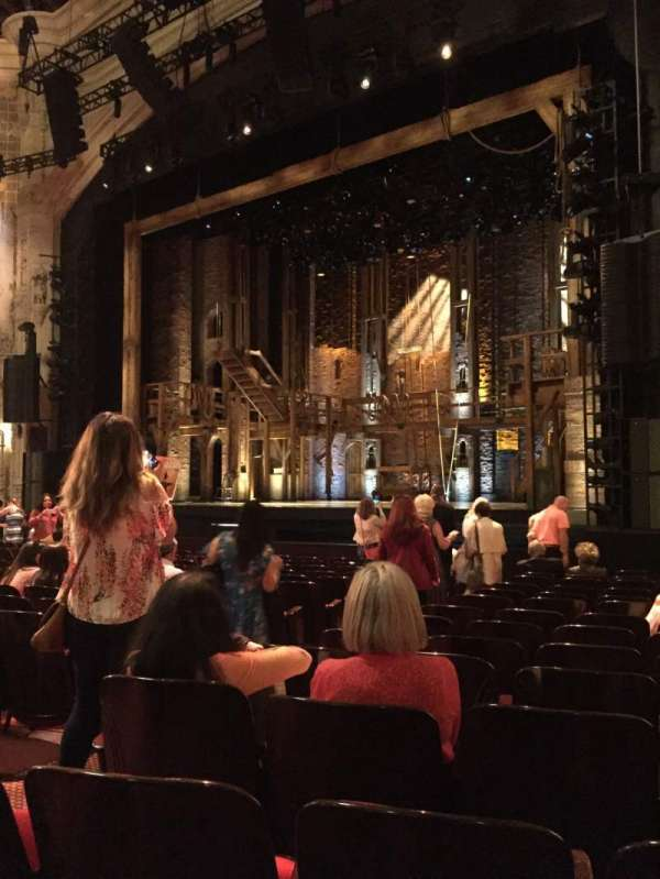 Orpheum Theatre (San Francisco), section: Orchestra R, row: P, seat: 8