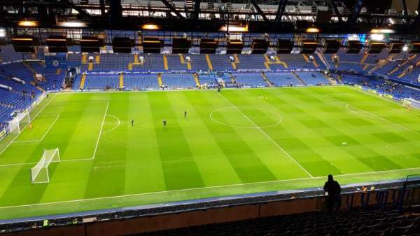 Stamford Bridge, section: West Stand Upper 7, row: 16, seat: 168