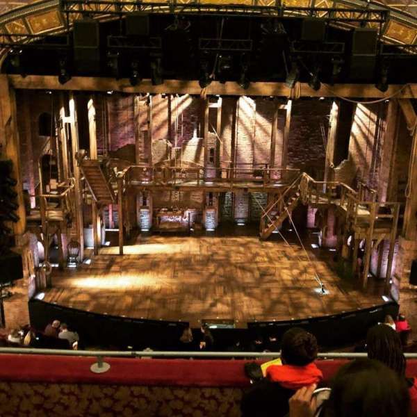 Richard Rodgers Theatre, section: FMEZZ, row: D, seat: 109