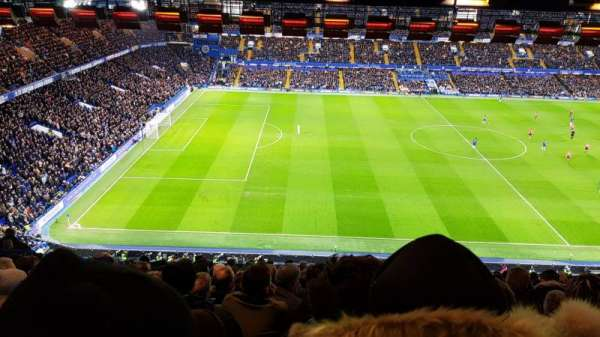 Stamford bridge, section: Upper west, row: 16, seat: 169