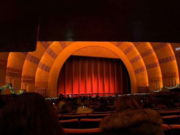 Radio City Music Hall, section: Orchestra 6, row: S, seat: 609 thru 613