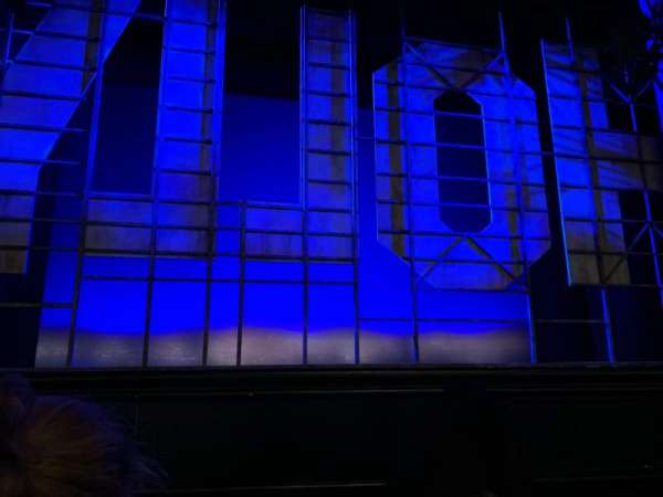 Nederlander Theatre, section: ORCH C, row: B, seat: 112