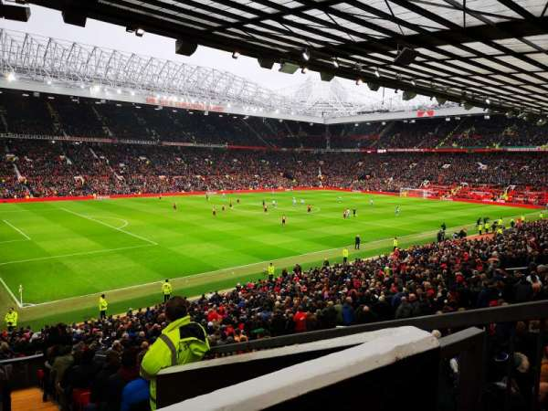 Old Trafford, section: FAM212, row: 22, seat: 1
