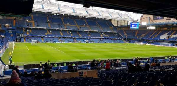 Stamford Bridge, section: West Stand Lower 8, row: 35, seat: 212