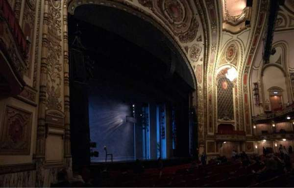 Cadillac Palace Theater, section: Orchestra L, row: H, seat: 23