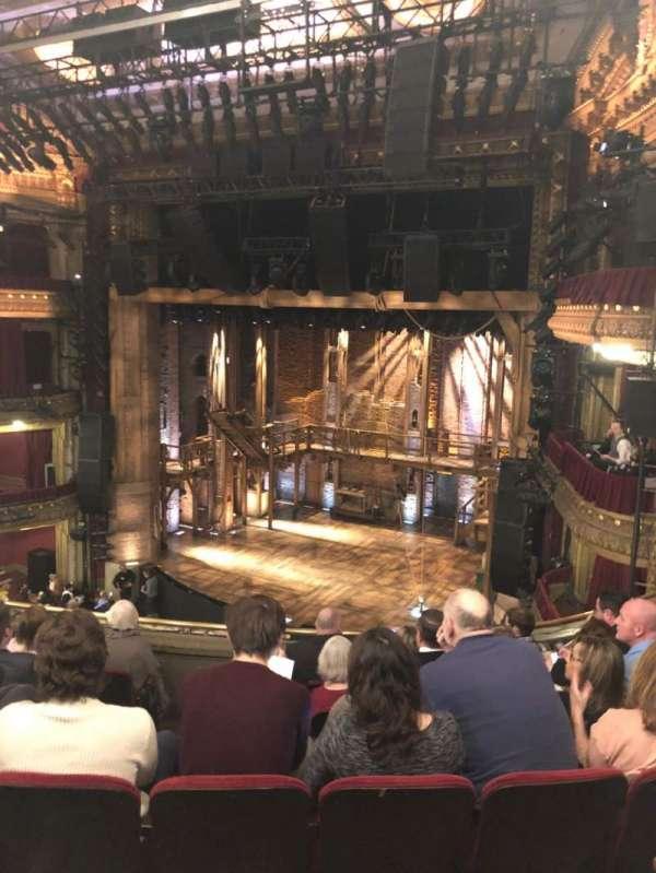 CIBC Theatre, section: Mezzanine R, row: G, seat: 12