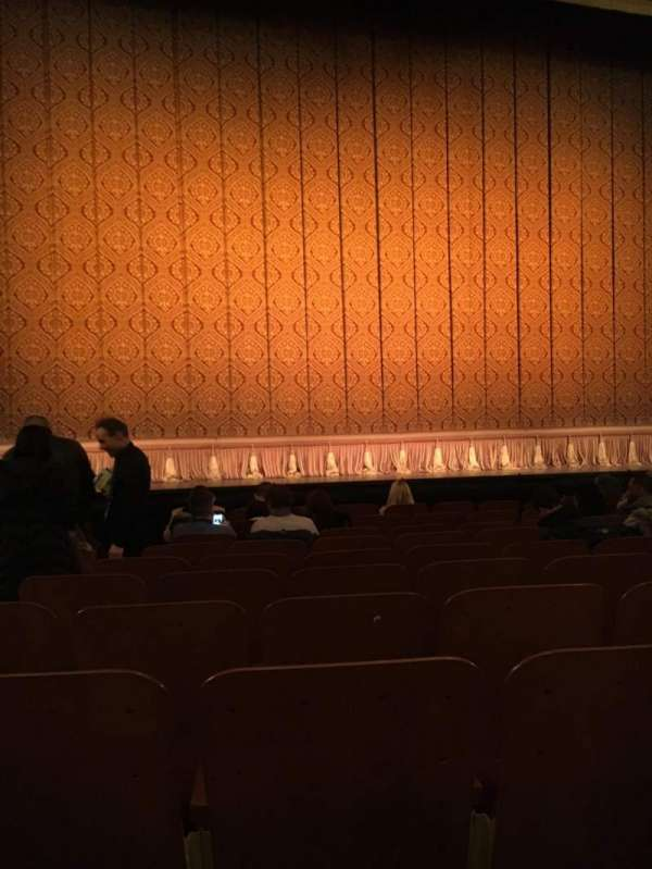 Booth Theatre, section: Orchestra Center, row: H, seat: 103