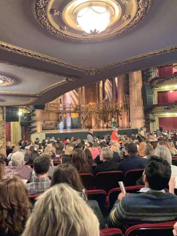 CIBC Theatre, section: Orchestra L, row: T, seat: 17, 19