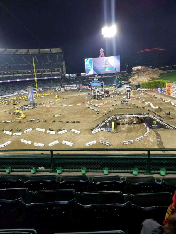 Angel Stadium, section: 343, row: D, seat: 11